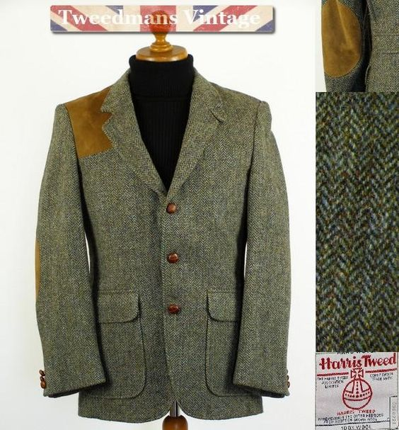 Harris Tweed shooting jacket. http://www.tweedmansvintage.co.uk