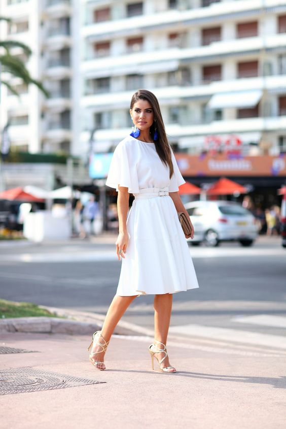 LOOK DO DIA: LADY IN WHITE