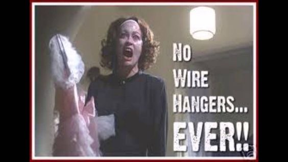 71a1830bfc2ef21555212c47807074ee hitlery clinton no wire hangers image result for no wire hangers memes pictures pinterest