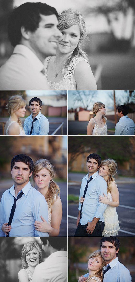 downtown engagement pictures | loftphotographie.com