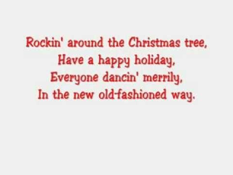 Youtube Have A Happy Holiday Christmas Tree Lyrics
