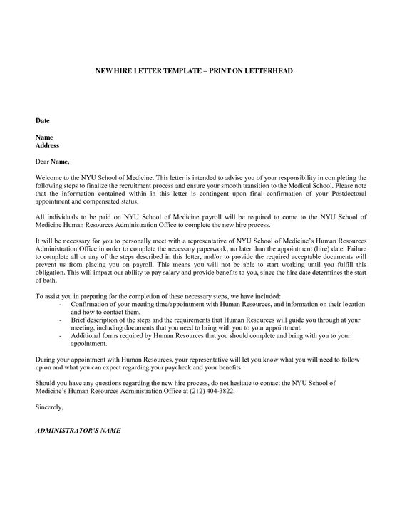 Examples Of Recommendation Letters Examples of Reference Letters - sample welcome letter