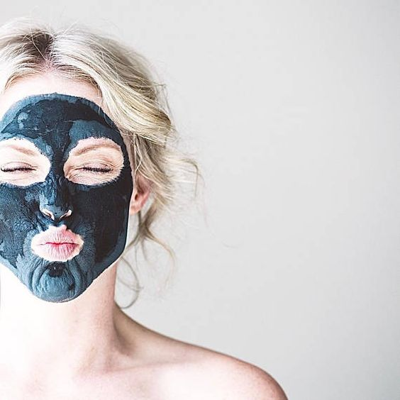 FACIAL MASK // 'Detox' Skin-Clearing Activated Charcoal & Clay Mask - - - Vegan ∙ Organic ∙ 100% Nat