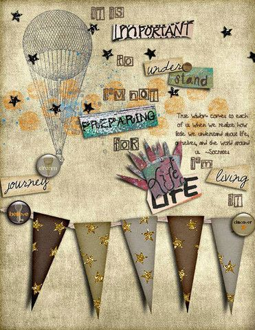 Flashback Friday-Art Journaling 101: Creative Use of Typography in Dig – artist janeagain