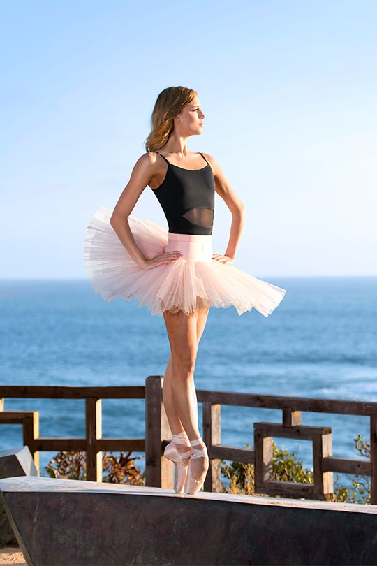 "discountdancesupply: "" Ballerina Keenan Kampa; Laguna Beach, CA; PC sharkcookie """