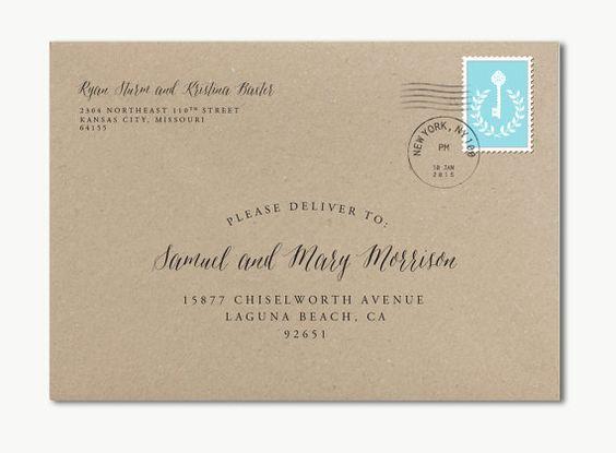 Envelopes custom and envelope addressing on