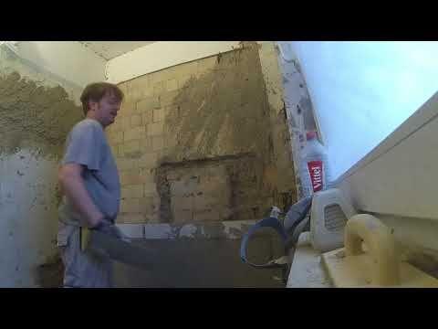 Verputzarbeiten Badezimmer Youtube Zementputz Badezimmer Renovieren