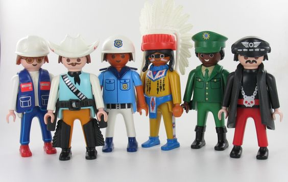 village people playmobil customs dominique bethune