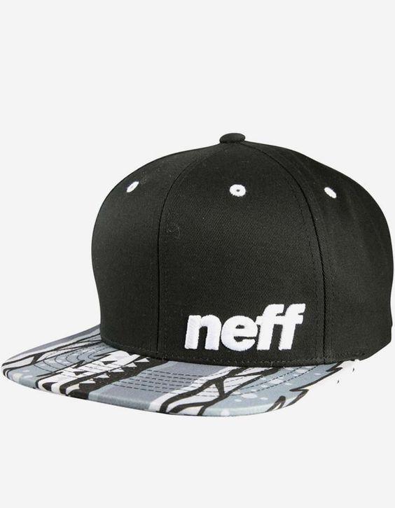 Neff - Daily Pattern Cap black haze