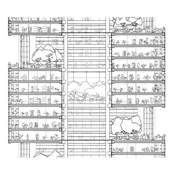 Commerzbank headquarters projects foster partners atrium tower pinterest frankfurt - Commerzbank london office ...