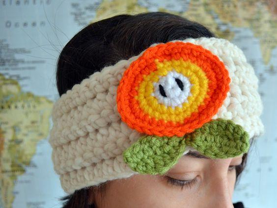 Free Crochet Patterns Groundhog : Flower headbands, Super mario bros and Winter accessories ...
