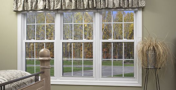 These Double Hung Windows Mulled Together Are