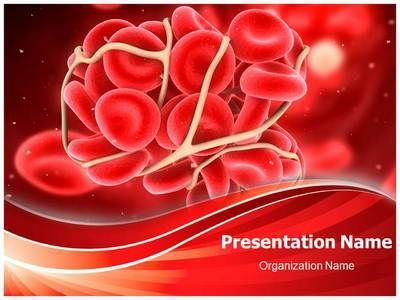 Make a professional looking hematology field and related for Blood ppt templates free download