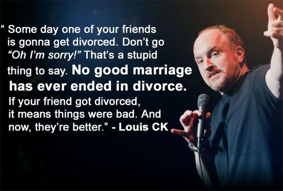 The wisdom of Louis CK.