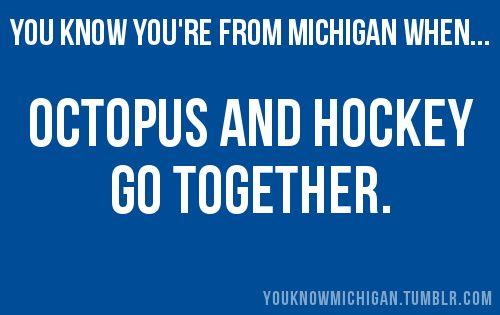 octopus and hockey