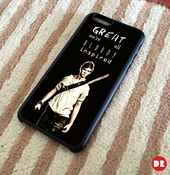 Newt Quotes The Maze Runner | iPhone 4/4S Case | iPhone 5/5S Case | iPhone 5C Case | iPhone 6 Case | Samsung Galaxy S4 S5 Note 3 Cases - Personalized Phone Cases... now I just need an iPhone...