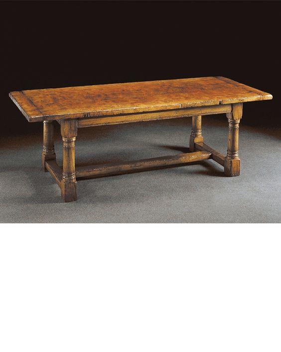 Captivating Titchmarsh And Goodwin Handmade English Furniture   Epicormic Oak English  Epicormic Oak Refectory Table