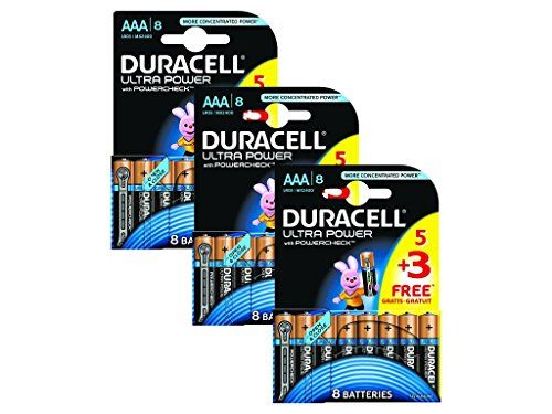 24 Duracell Ultra Power Mx2400 Alkaline Aaa Batteries 5 Pack 3
