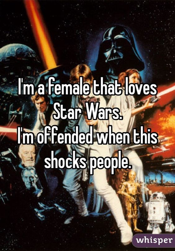15 Very Honest Confessions From Female Star Wars Fans