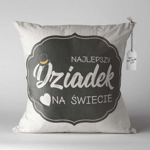 Poduszka Dzien Babci I Dziadka Nadrukiem Prezent 8772500631 Oficjalne Archiwum Allegro Diy Handmade Pillows Throw Pillows