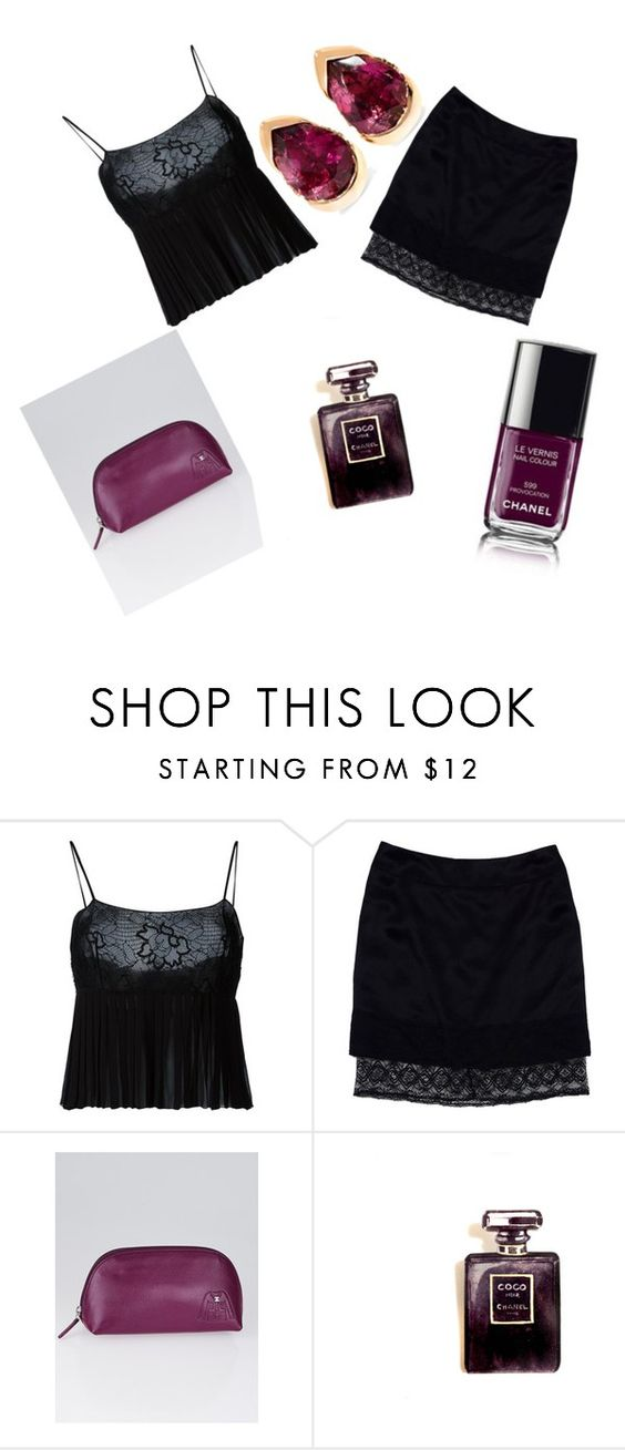 """""""Chanel"""" by brunettsfashion ❤ liked on Polyvore featuring Chanel and Fernando Jorge"""