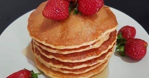 Cara Membuat Pancake Bahan 125 Gr Tepung Terigu 25 Gr Gula Castor 25 Gr Mentega Lelehkan 1 Btr Telur Utuh 1 Kuning T Di 2020 Resep Minuman Resep Masakan Soda Kue