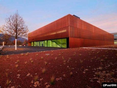 Le Courrier de l'Architecte | Dietger Wissounig, centre sportif de Villach I Autriche