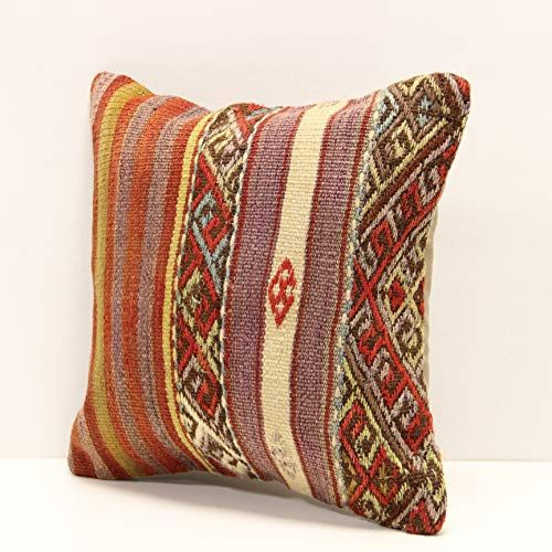 Throw Kilim Pillow Cover 12x12 Inch Bohemian Turkish Chair Interiror Design Rustic Handmade Accent Small D In 2020 Interiror Design Rustic Design Rustic Home Interiors