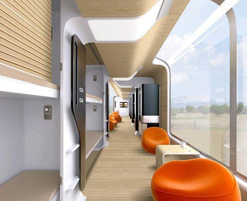 Futuristic Train Interior Pinterest • The worl...
