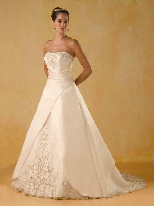 wedding dresses a line wedding dresses 2014 wedding dresses with straps and lace a line princess strapless chapel train wedding dress for brids 2013 style