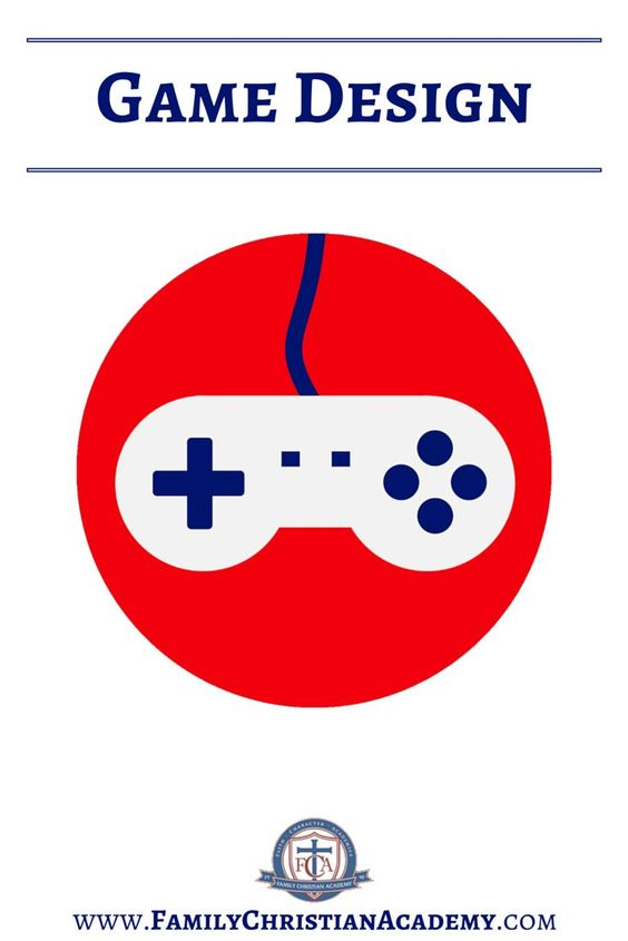 Game Design #homeschool #fca Family Christian Academy - great Home Education resources! Grade 1st 2nd 3rd 4th 5th 6th 7th 8th 9th 10th 11th 12th high school, preschool, kindergarten, college prep, curriculum, testing, tutoring & more!