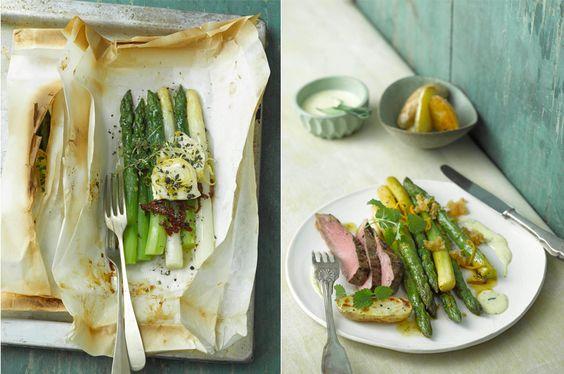 asparagus en papilotte