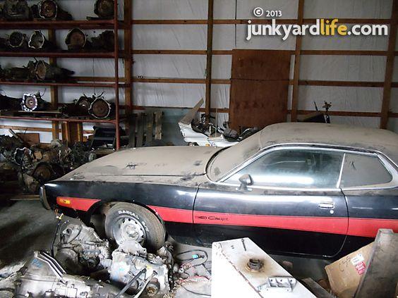 Muscle Car Barn Find