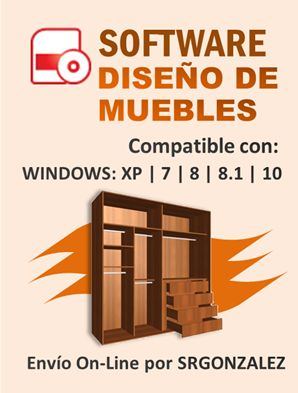 Dise os de muebles dise os de cocinas dise os closet for Software para muebles