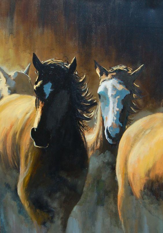 +Horse+Paintings%2C+Buffalo+Paintings%2C+Wild+Horse+Paintings%2C+Native+American+Paintings   www.gaiti.com