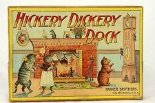 Antique Parker Brothers Hickery Dickery Dock Board Game