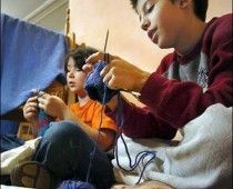 Five lessons to take from Waldorf for your homeschool: Crochet Knitting, Teaching Kids To Crochet, Teach Kids Crochet, Finger Knitting For Kids, Kids Crafts, Knitting For Kids Teaching, Teaching Children, Crafts Crocheting Kid Projects