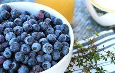 Blueberry Thyme Shrub Recipe