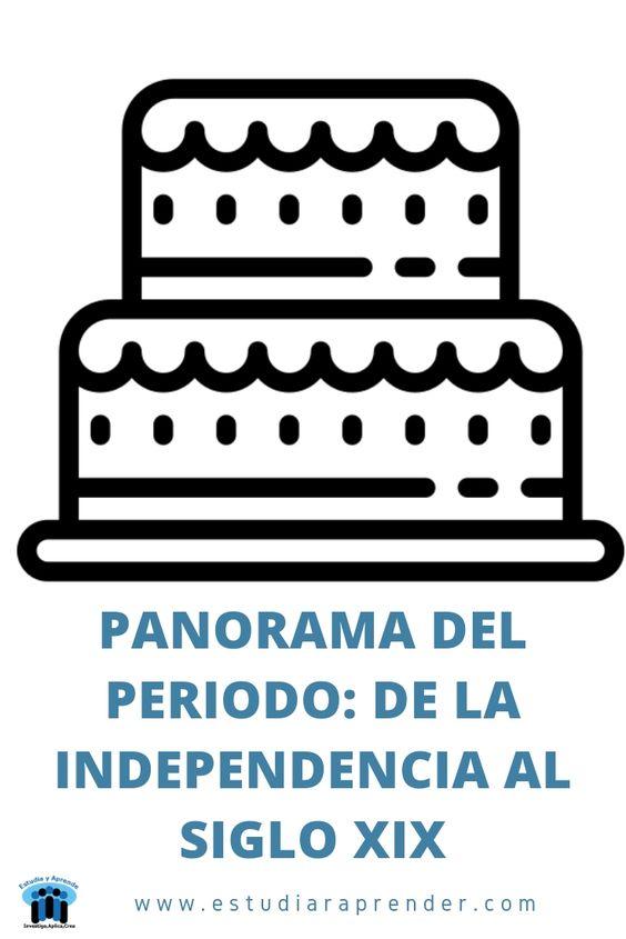 panorama del periodo de la independencia al siglo XIX en Mexico