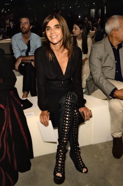 Carine Roitfeld Photos - Proenza Schouler - Front Row - Spring 2016 New York Fashion Week - Zimbio