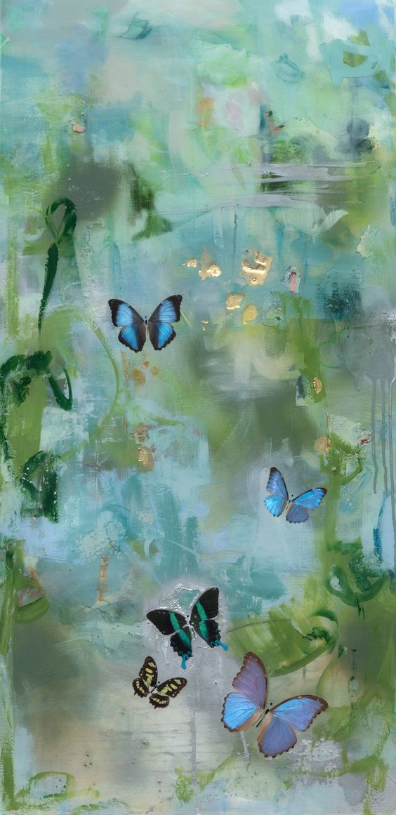 Duizend vlinders toen ik jou zag