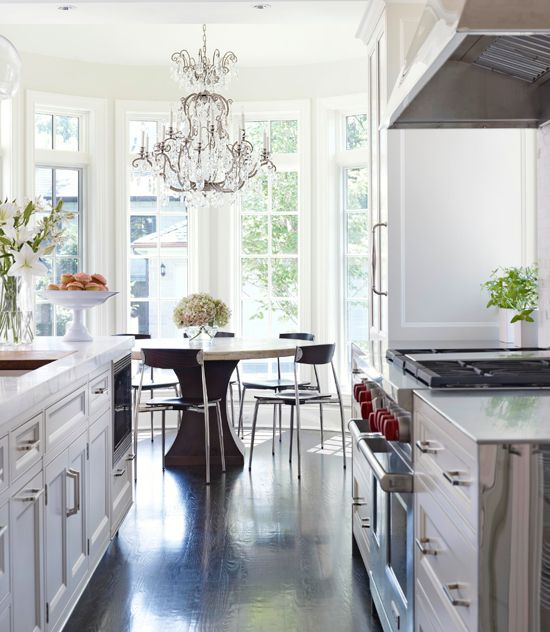 The Chandelier, Nooks And Breakfast Nooks On Pinterest