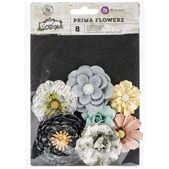 """Epiphany Flowers Paper Bombshell 1.25"""" to 2.25"""" - Click to enlarge"""