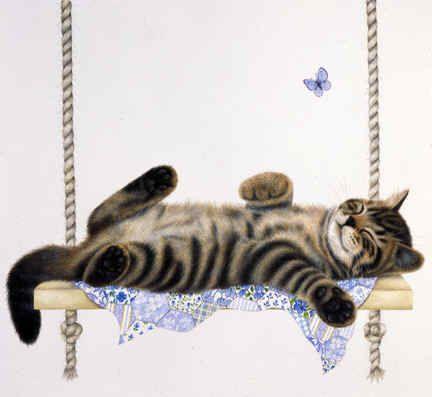 Debbie Cook Cat Artist:
