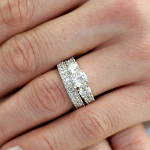 324 best Chapel of Love Wedding ring sets images on Pinterest