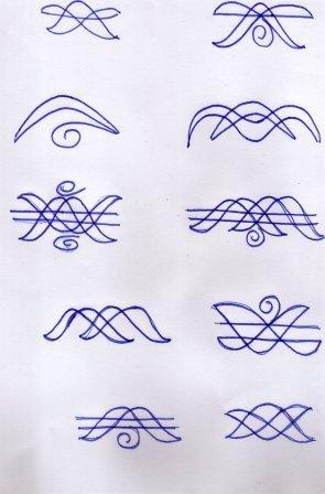 Muggulu Borders Others : Rangoli / Muggulu Muggulu /,Kolam - 295x448 ...