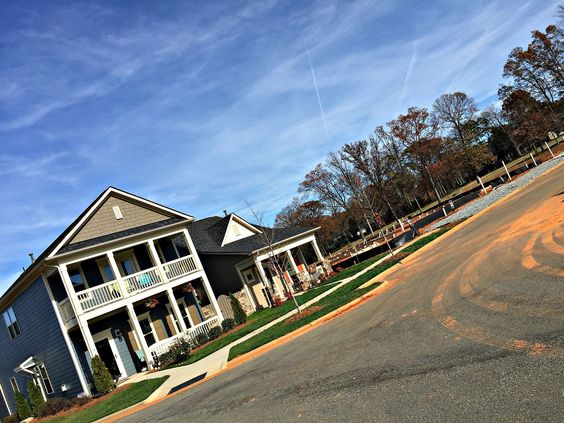 New homesites are prepped and ready to go... Four more beautiful craftsman villas will soon join the row!
