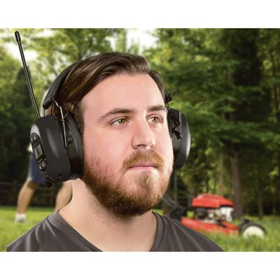 Bluetooth Hearing Protection Headphones — Don't Blast Your Ear Drums as You Work