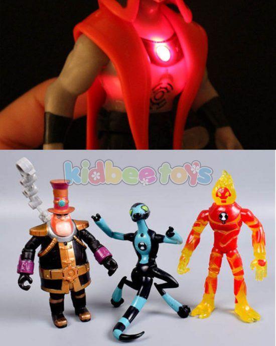 فیگور بن تن چراغدار Bin10 Boy S Room Superhero Character