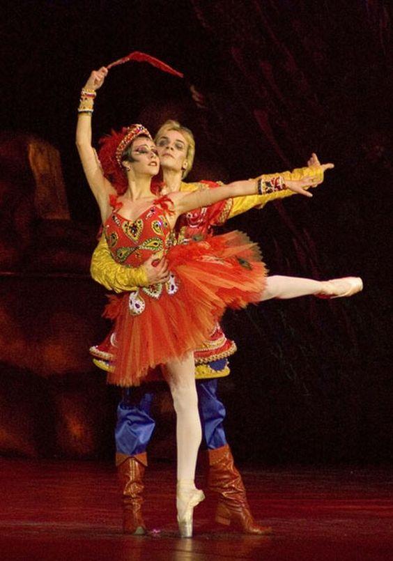 """.Одноактный балет """"Жар - птица"""" И.Стравинского,"""